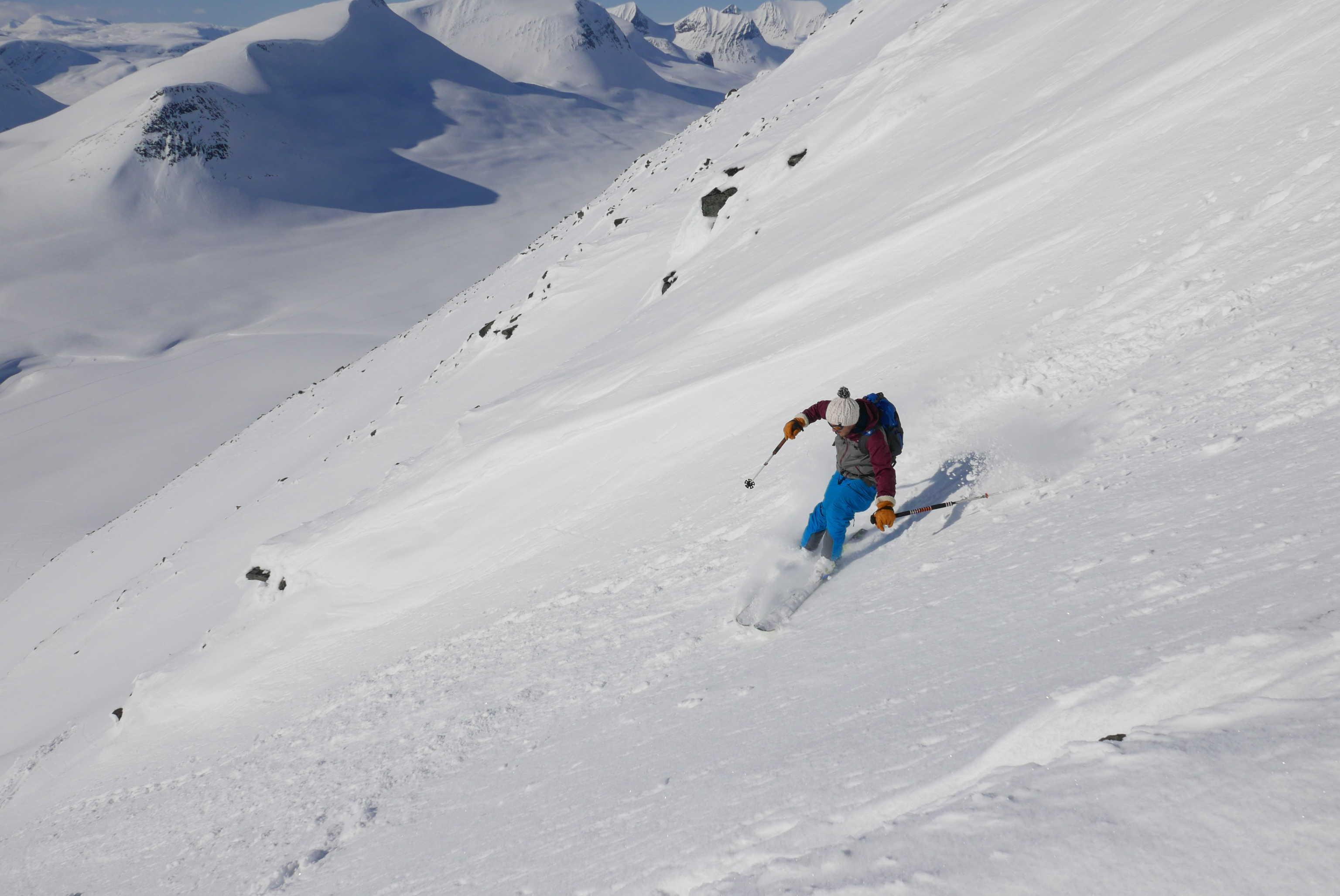 Ski dans le Kebnekaise