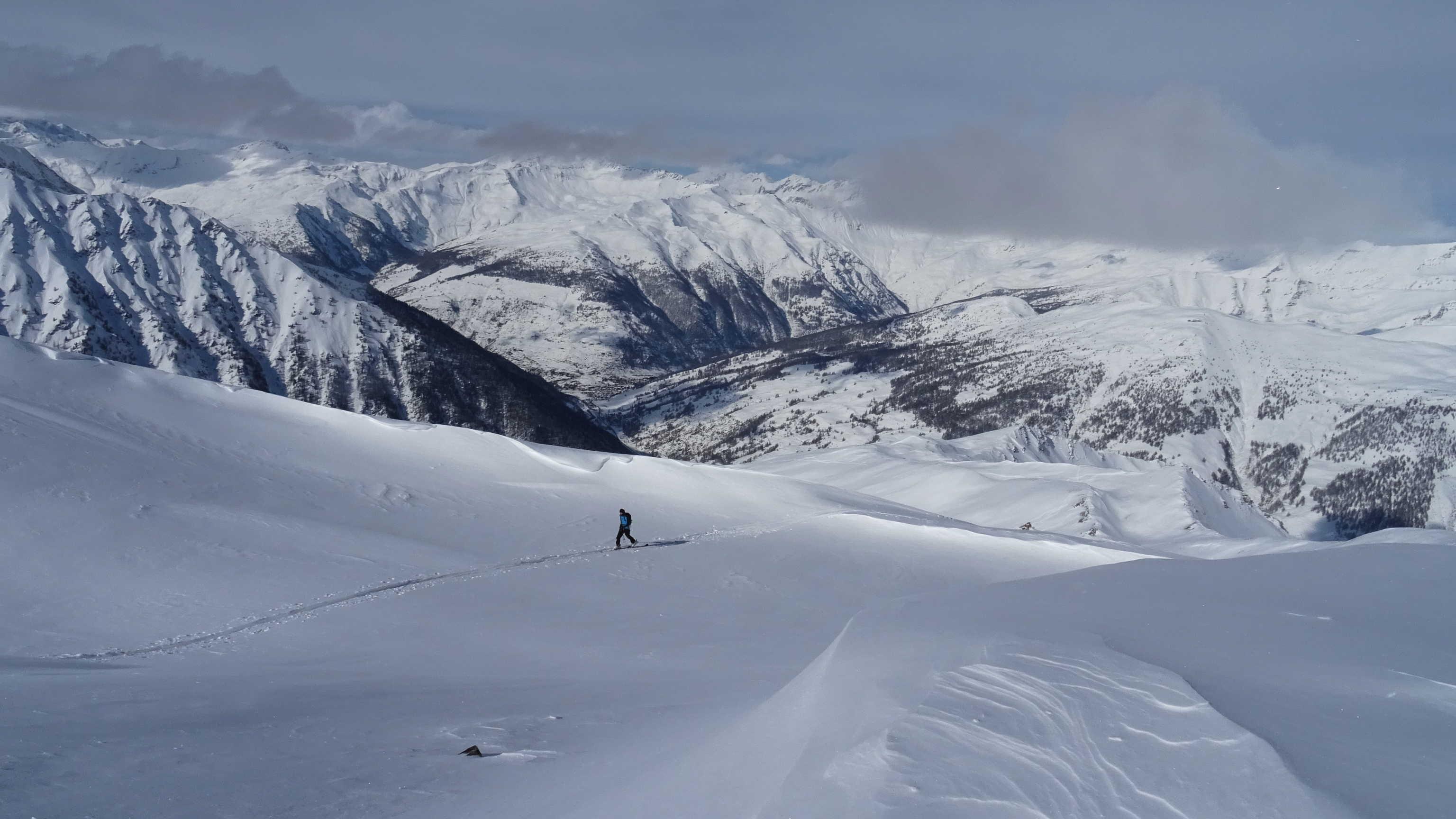 Ski dans le Queyras