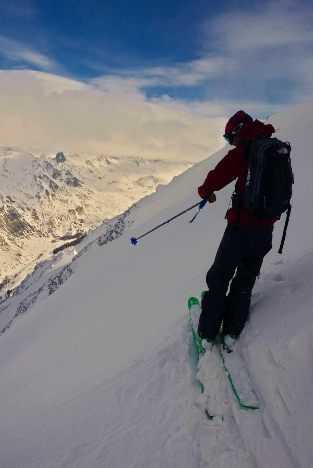 Ski de pente raide