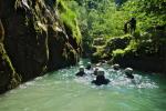 Canyon pont du diable Bauges Chambéry