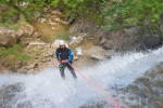 Ecouges 2 bas Canyoning Grenoble, Canyoning Lyon, Canyoning Chambéry, Canyoning Annecy, Vercors